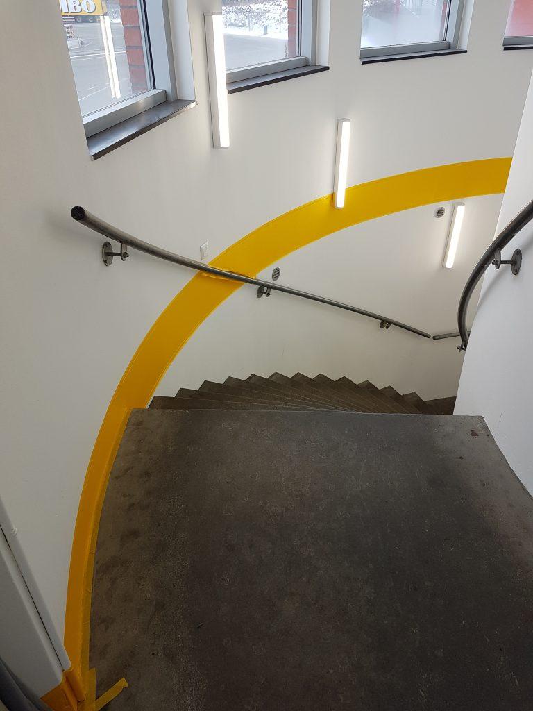 trappenhuis schilderen
